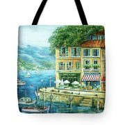 Le Port Tote Bag by Marilyn Dunlap