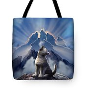 Leader Of The Pack Tote Bag by Jerry LoFaro