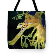 Leafy Sea Dragon Tote Bag by Mariola Bitner