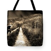 Leaving This Town Tote Bag by Gray  Artus