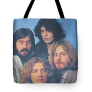 Led Zeppelin Tote Bag by Donna Wilson