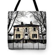 Lemon Hill Mansion - Philadelphia Tote Bag by Bill Cannon