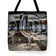 Let The Wine Tasting Begin Tote Bag by Julie Palencia