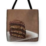 Let us eat cake Tote Bag by James W Johnson