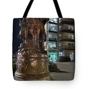 Lewis And Clark At The End Of The Trail -- Oregon State Coast Tote Bag by Daniel Hagerman