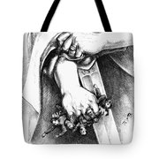 LIBERTY IS NOT ANARCHY Tote Bag by Granger