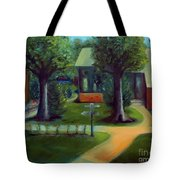Lichterman Nature Center Tote Bag by Karen Francis