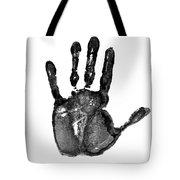 Lifeline - Free Hand Tote Bag by Michal Boubin