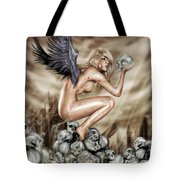Lifting The Veil Tote Bag by Pete Tapang