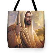 Light Of The World Tote Bag by Greg Olsen