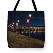 Light The Way Tote Bag by Ryan Crane