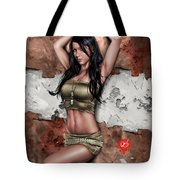 Lights Out 3 Tote Bag by Pete Tapang