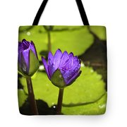 Lilly Buds Tote Bag by Teresa Mucha