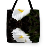 Lily Reflection Tote Bag by Avalon Fine Art Photography