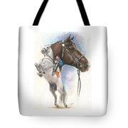 Lippizaner Tote Bag by Barbara Keith