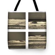 Listen To The Song Of The Ocean Tote Bag by Susanne Van Hulst