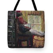 Literary Escape Tote Bag by Nadine Rippelmeyer