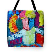 Little Ballerina Tote Bag by Ana Maria Edulescu