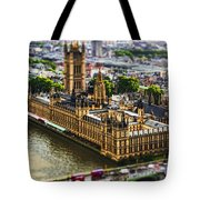 Little Ben Tote Bag by Andrew Paranavitana