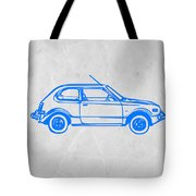 Little Car Tote Bag by Naxart Studio
