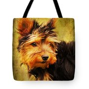 Little dog II Tote Bag by Angela Doelling AD DESIGN Photo and PhotoArt