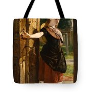 Little Nell Leaving The Church Tote Bag by James Lobley