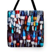 Lobester trap bouys Tote Bag by Garry Gay