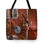 Locked Gate Tote Bag by Christopher Holmes