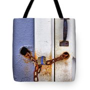 Locked Out Tote Bag by Evelina Kremsdorf