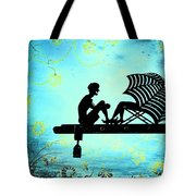 Locks Of Love Tote Bag by Evelina Kremsdorf