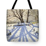 Lomberdale Hall Derbyshire Tote Bag by Andrew Macara