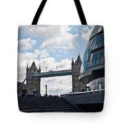 London Tower Bridge Tote Bag by Dawn OConnor