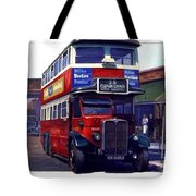 London Transport Renown Tote Bag by Mike  Jeffries