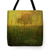 Lone Tree In Meadow -textured Tote Bag by Dave Gordon