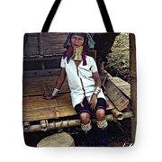 Longneck Beauty Tote Bag by Steve Harrington