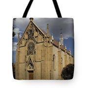 Loretto Chapel - Santa Fe Tote Bag by Mike McGlothlen