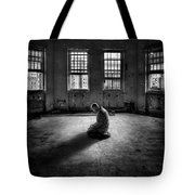 Losing My Religion Tote Bag by Evelina Kremsdorf