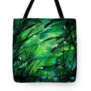 Lost In Paradise Tote Bag by Rachel Christine Nowicki