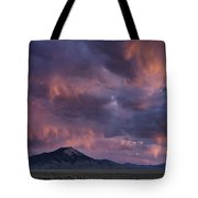 Lost River Sunset Tote Bag by Leland D Howard