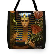 Lotus Tote Bag by Jane Whiting Chrzanoska