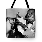 LOUIS ARMSTRONG 1900-1971 Tote Bag by Granger