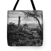 Louisiana: Steamboat Wreck Tote Bag by Granger