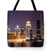 Louisville 1 Tote Bag by Amber Flowers