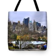 Love In Central Park Too Tote Bag by Randy Aveille