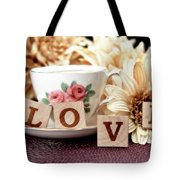 Love Tote Bag by Tom Mc Nemar