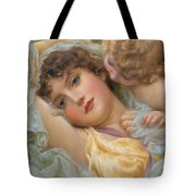 Love's Whispers Tote Bag by NP Davies