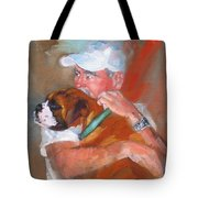 Loving Roxie Tote Bag by Laura Lee Zanghetti