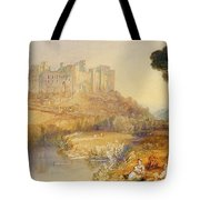 Ludlow Castle  Tote Bag by Joseph Mallord William Turner