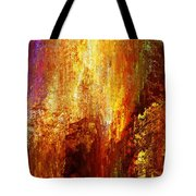 Luminous - Abstract Art Tote Bag by Jaison Cianelli