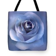 Luminous Lavender Rose Flower Tote Bag by Jennie Marie Schell